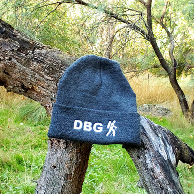 Charcoal with White DBG Logo 12