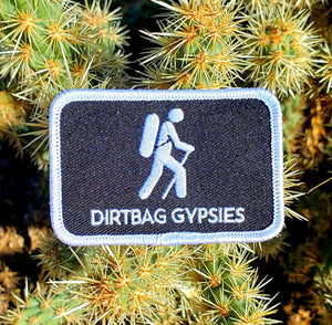 Dirtbag Gypsies Iron on Patch