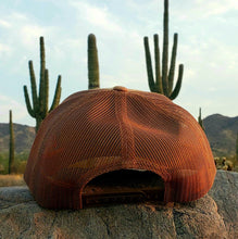 Load image into Gallery viewer, Copper Trucker Patched Hat