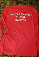 Load image into Gallery viewer, Red Long Sleeve Kayaker Shirt