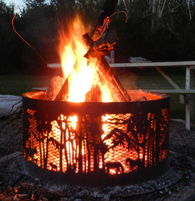 Fire pits are selling & we're making more as quickly as we can!