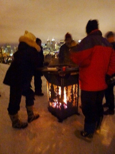 Globe & Mail: Fire pits are this winter's hottest accessory!