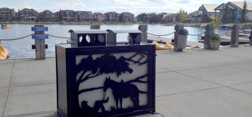 Art Bins For Lake Chaparral