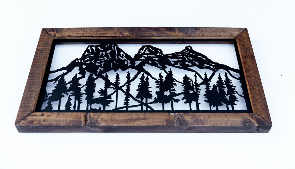 Three Sisters Mountains (small)