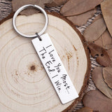 Husband Wife Keychain Gifts for Anniversary Birthday Wedding Gifts from Wifey Hubby Valentine Day Gifts for Girlfriend Boyfriend Couple Key Chain Gifts for Him Her