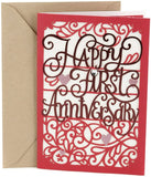 Hallmark 1st Anniversary Card (Happy First Anniversary)