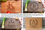 BAYLN Personalized Cutting Boards, Wooden Custom Engraved Chopping Board for Wedding Gift, Bridal Shower, Engagement Gifts, Anniversary Gift, Housewarming Gift, Gift for Parents