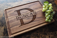 Personalized Cutting Board, Custom Keepsake, Engraved Serving Cheese Plate, Wedding, Anniversary, Engagement, Housewarming, Birthday, Corporate, Closing Gift #201