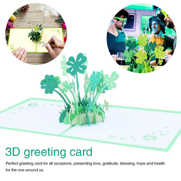 3D Pop UP Cards Valentines Day Gift Postcard with Envelope Stickers Wedding Invitation Greeting Cards Anniversary for Her