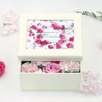 Floral Bath Soap Rose Flower Petals Plant Rose Soap Set  Frame Photo Best Gifts for Her Mom Birthday Anniversary Valentine's Day