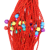 50pcs Wedding Souvenirs Women Lucky Bracelets Kids Birthday Favors Gifts For Guest Party Favors Cartoon Bead Red String Bangles