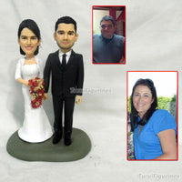 Custom anniversary Bobblehead personalized couple bobblehead anniversary gift for parents souvenir precious moment miniature