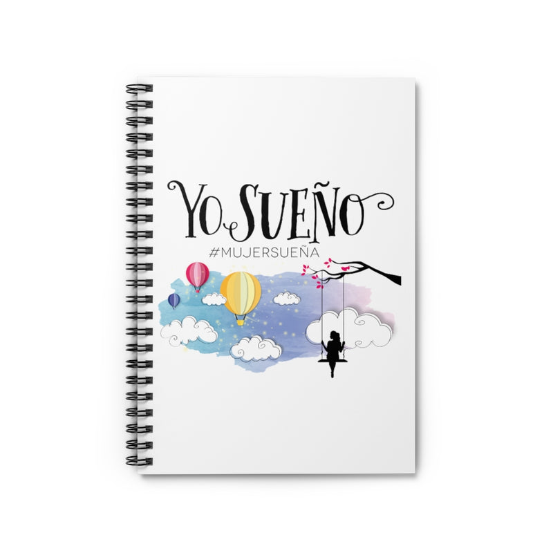 Yo Sueño - Spiral Notebook - Ruled Line