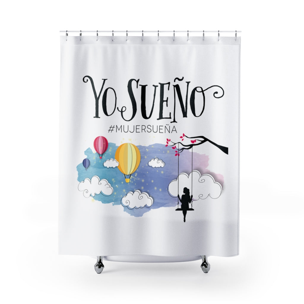 Yo Sueño - Shower Curtains