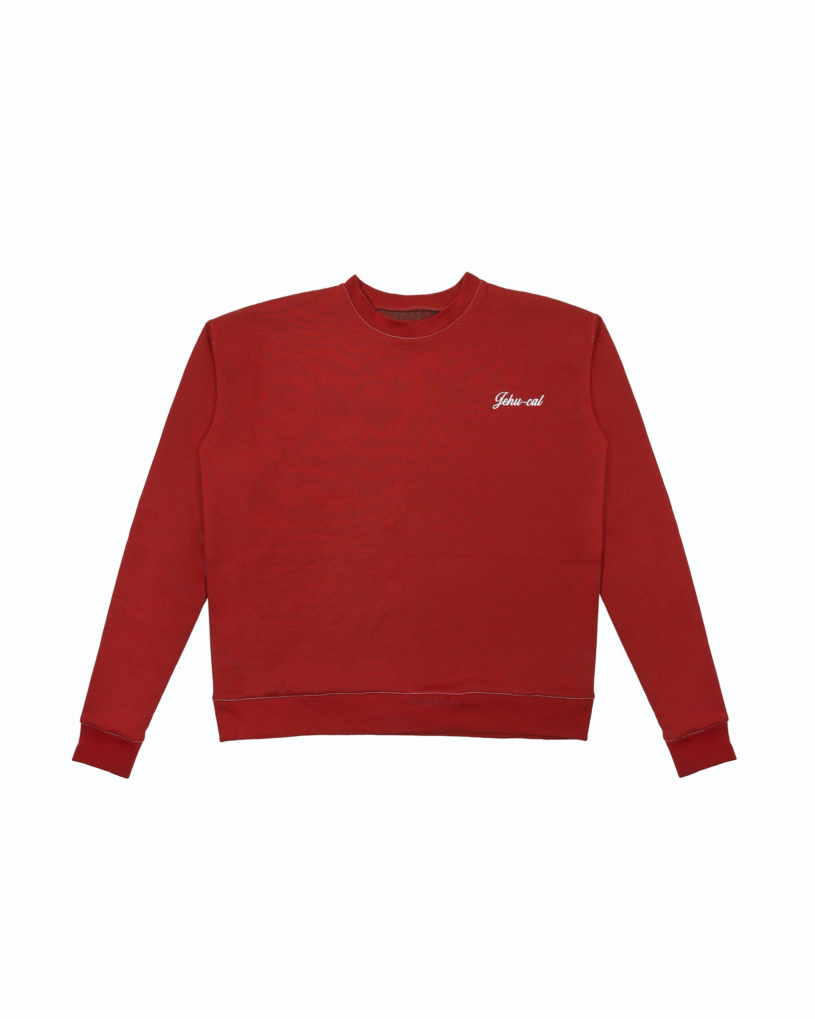 OXBLOOD SWEATSHIRT