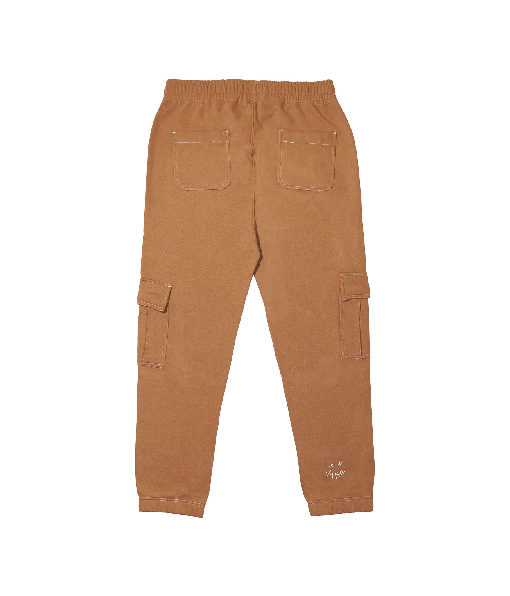 'TILL FOREVER' TRACKPANTS (BISCOFF BROWN)