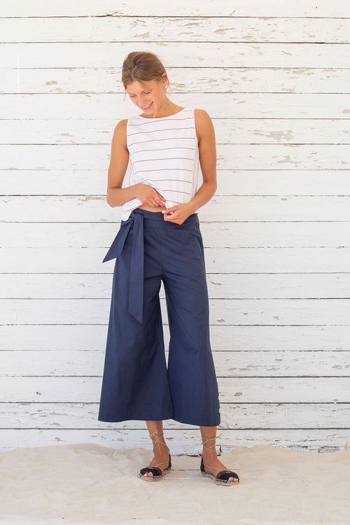 Alma Pants Suite13 Navy