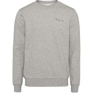 Elm Grey Sweatshirt Knowledge Cotton Apparel