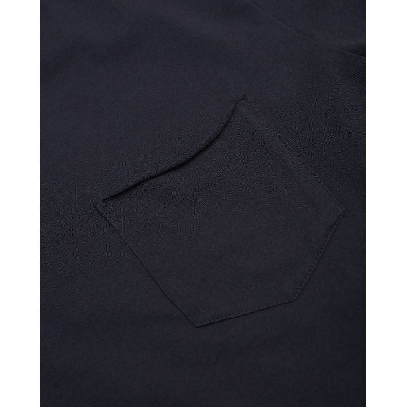 Alder Basic Chest Pocket Tee Navy Knowledge Cotton Apparel