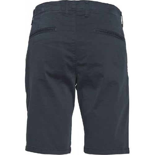 Chuck Regular Fit Shorts Navy Blue Knowledge Cotton Apparel