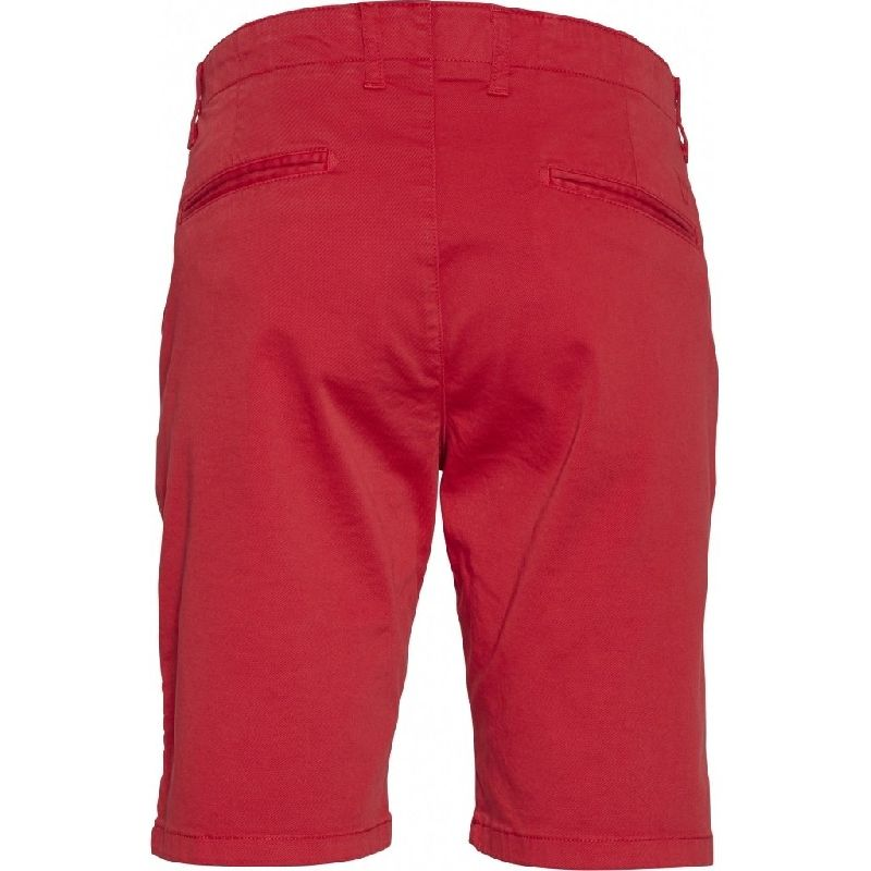 Chuck Regular Fit Shorts Red Knowledge Cotton Apparel