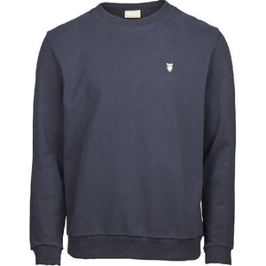 Elm Sweatshirt Navy Knowledge Cotton Apparel