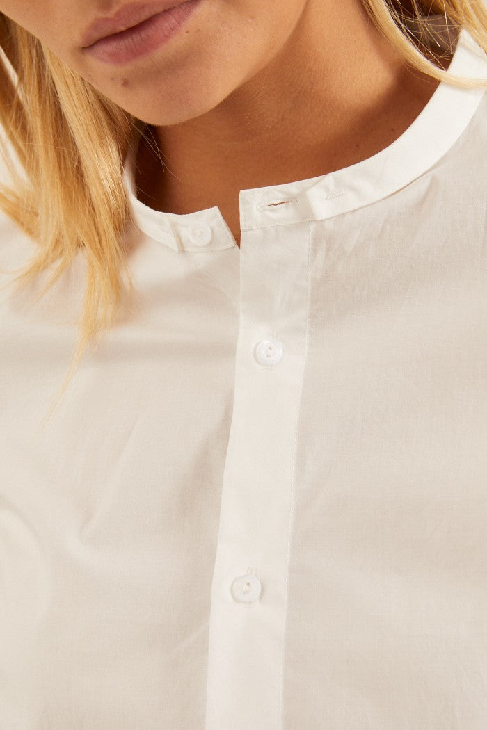 White Long sleeve Shirt Lanius