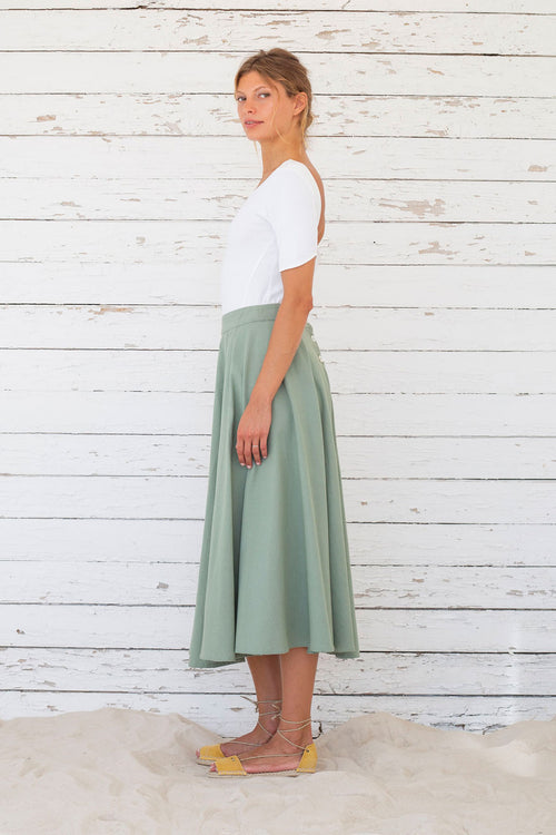 Laurel skirt Suite13 Green
