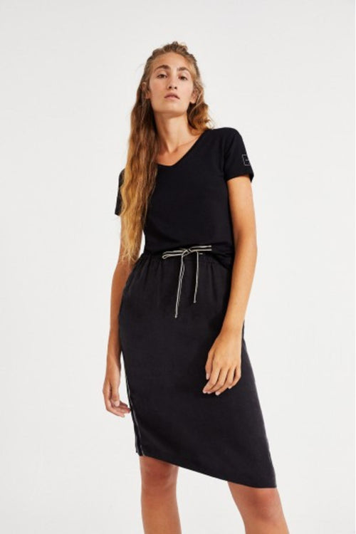 Louron Black Skirt Ecoalf