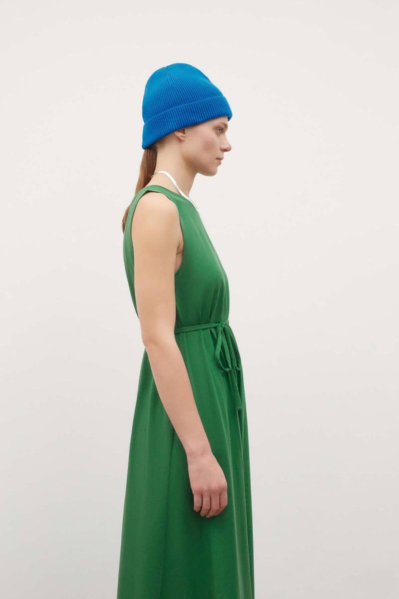 Tank Swing Evergreen Dress Kowtow