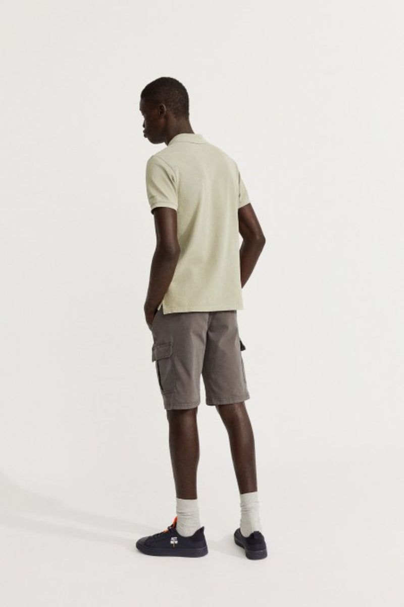 Ted Slim Khaki Polo Ecoalf