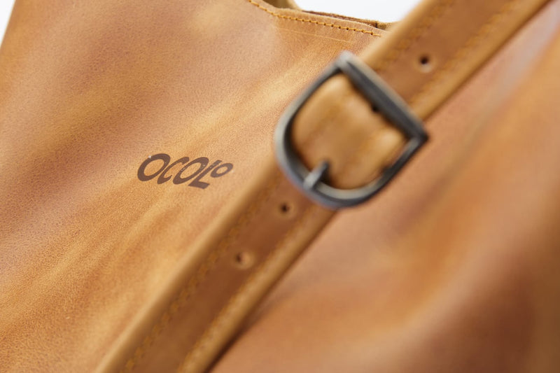 Camel Tote Leather Bag