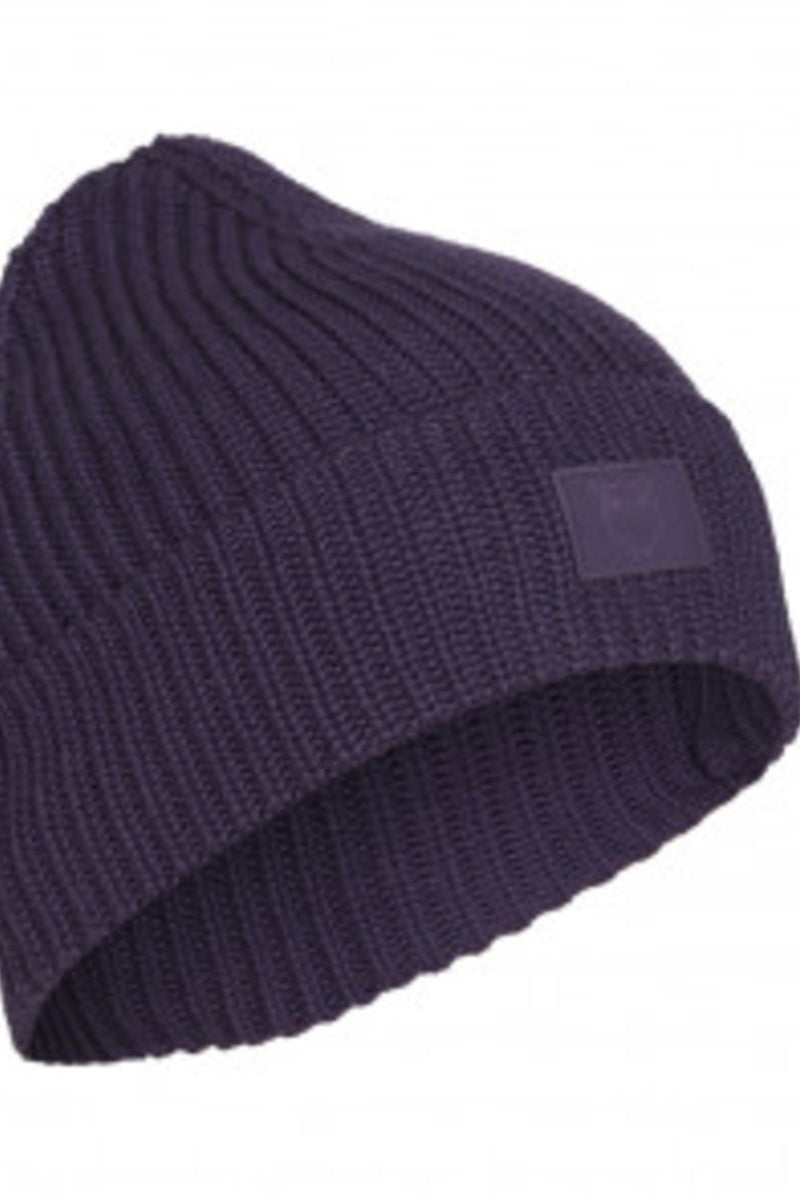 Leaf Ribbing Hat Knowledge Cotton Apparel Navy