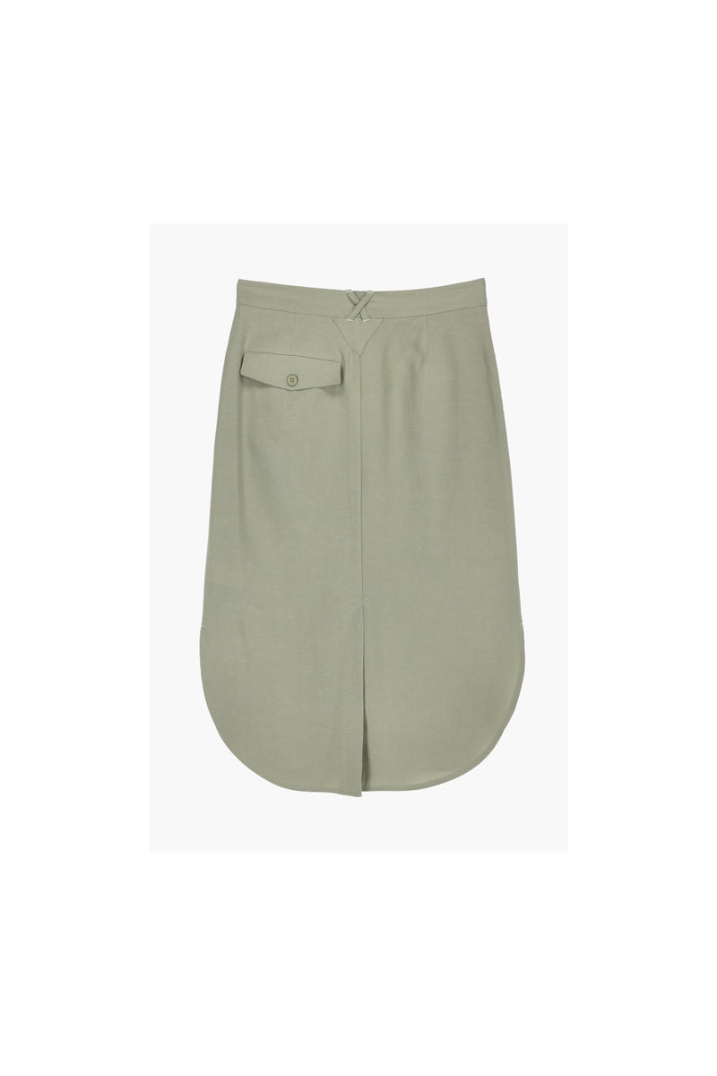 Mia Skirt Ecoalf Green