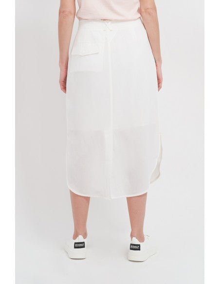 Mia Skirt Ecoalf White