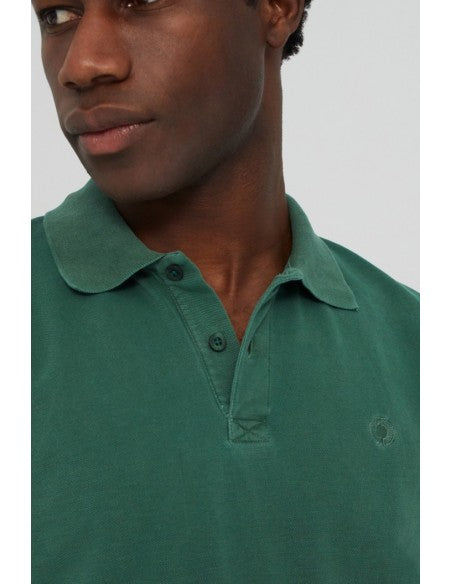 Ted Polo Slim Fit Esmerald Green Ecoalf