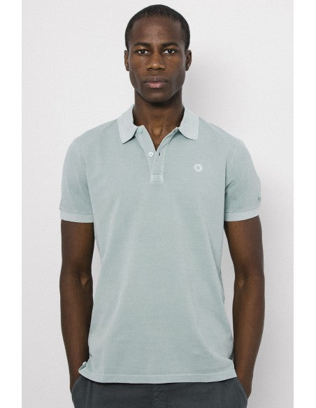 Ted Polo Slim  Fit Mint Ecoalf