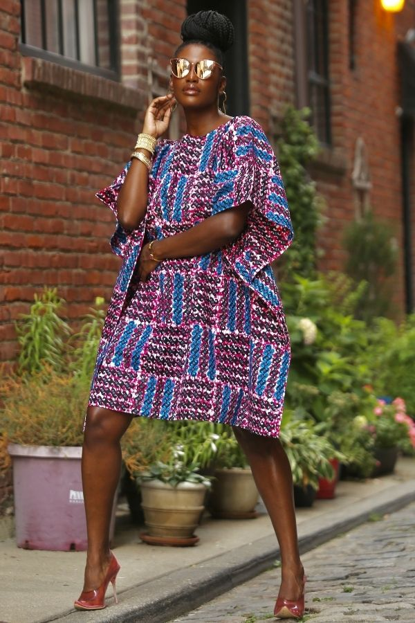 African Print Fullani (wavy) Dress