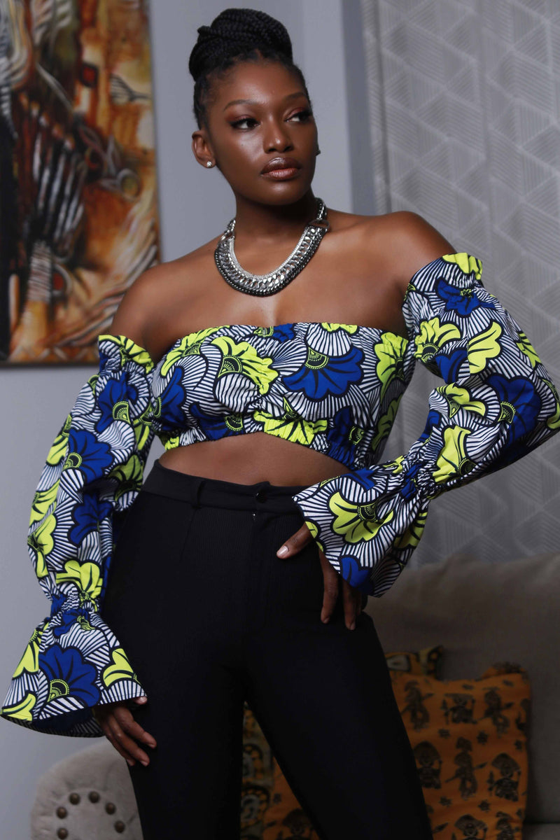 African Print Ayo (GB) Top