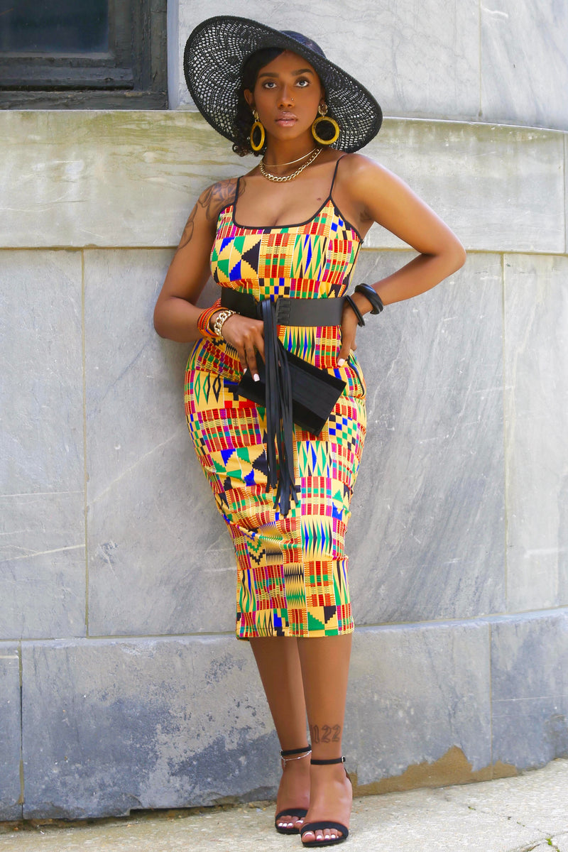 Joelle (Kente) Dress