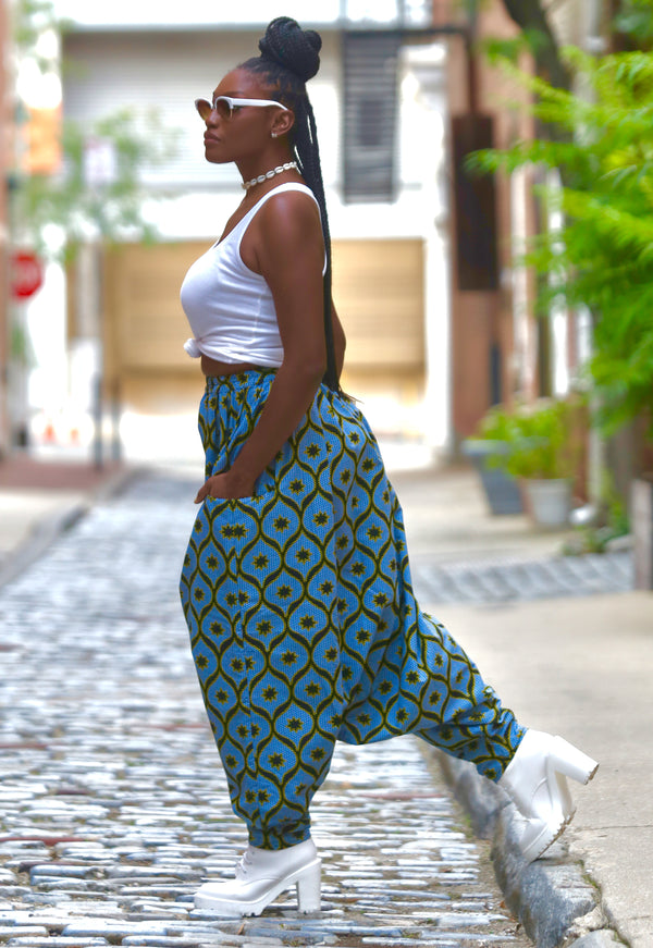 AFRICAN PRINT MOUROUBA (CHILL) PANTS