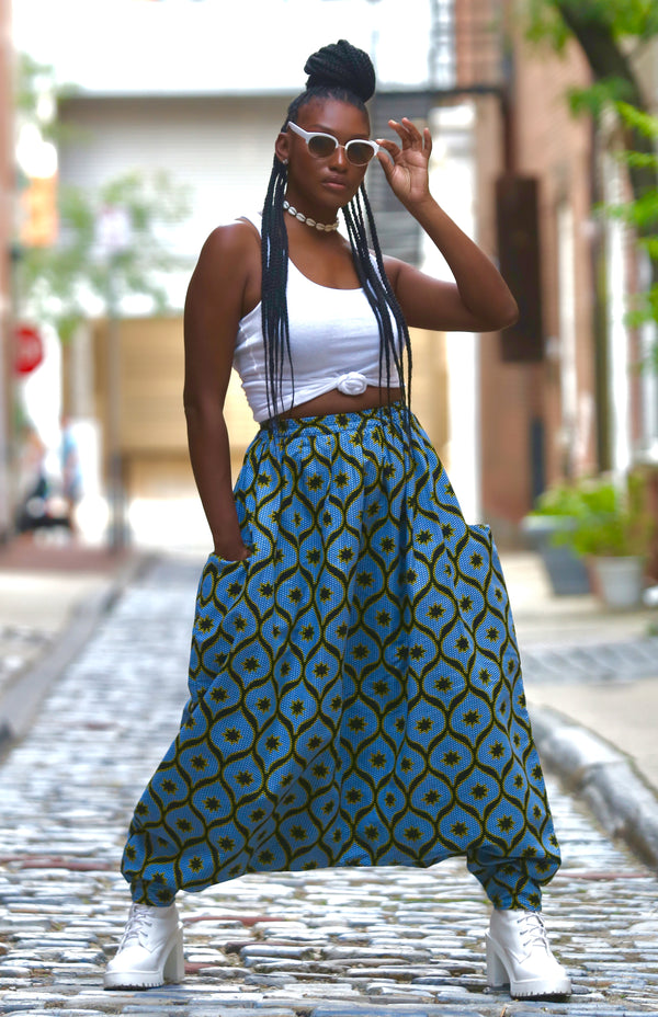 AFRICAN PRINT MOUROUBA (CHILL) PANTS - Baggy