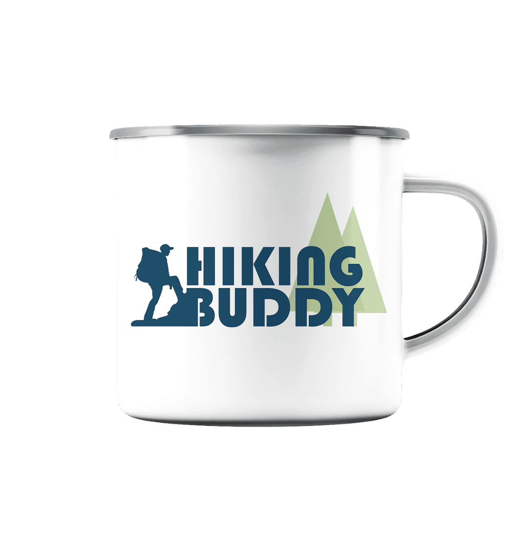 Hiking Buddy - Emaille-Tasse