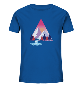 Mountains and River Day - Kids Organic Shirt