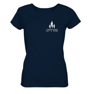 Let's Hike - Ladies Organic Shirt