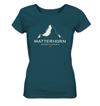 Laden Sie das Bild in den Galerie-Viewer, Matterhorn - Ladies Organic Shirt
