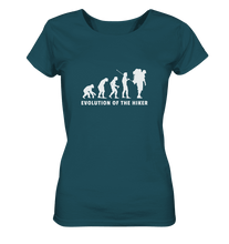 Laden Sie das Bild in den Galerie-Viewer, Hiker Evolution - Ladies Organic Shirt