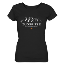 Laden Sie das Bild in den Galerie-Viewer, Zugspitze - Ladies Organic Shirt