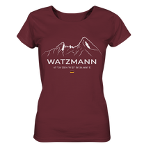 Laden Sie das Bild in den Galerie-Viewer, Watzmann - Ladies Organic Shirt