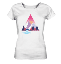 Laden Sie das Bild in den Galerie-Viewer, Mountains and River Day - Ladies Organic Shirt